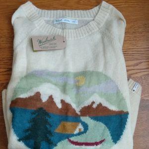 Cute cozy Woolrich sweater